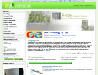 ome-technology.allitwares.com screenshot