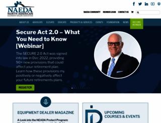 omeda.org screenshot