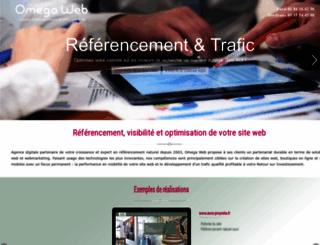 omega-web.net screenshot