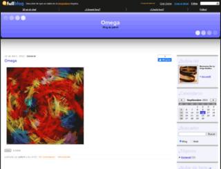 omega2012.fullblog.com screenshot