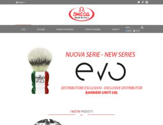 omegabrush.com screenshot