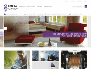 omegawindowfilms.co.uk screenshot