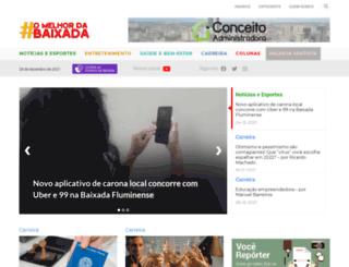 omelhordabaixada.com.br screenshot
