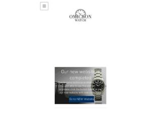 omicronwatch.com screenshot