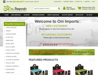 omimports.com screenshot