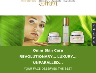 ommskincare.com screenshot