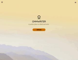 ommwriter.com screenshot