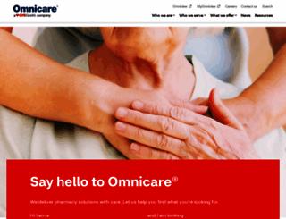 omnicare.com screenshot