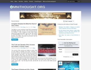 omnithought.org screenshot
