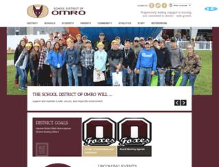 omro.k12.wi.us screenshot