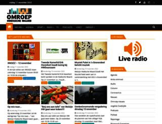 omroephw.nl screenshot