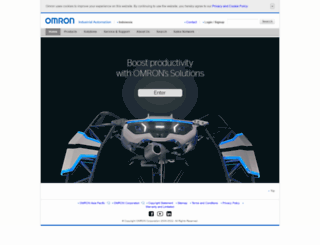 omron.co.id screenshot