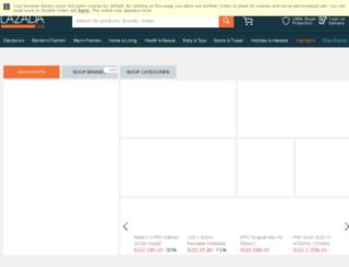 oms.lazada.com.sg screenshot