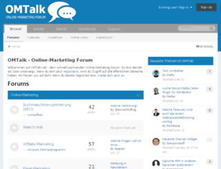 omtalk.com screenshot