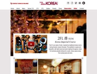 on2nd.misskoreabbq.com screenshot