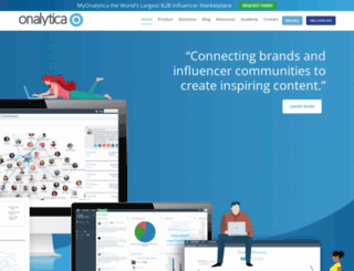 onalytica.com screenshot
