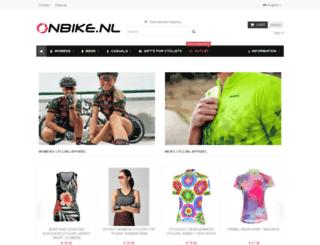 onbike.nl screenshot