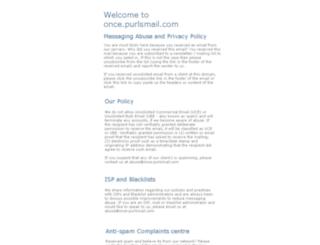 once.purlsmail.com screenshot