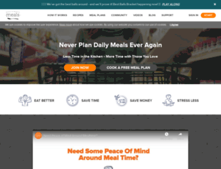 onceamonthmeals.com screenshot