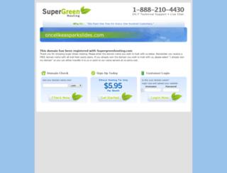 oncelikeasparkslides.com screenshot