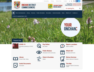 onchan.org.im screenshot