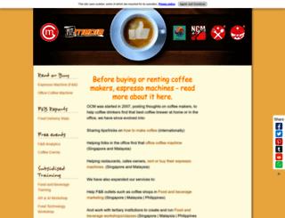 oncoffeemakers.com screenshot