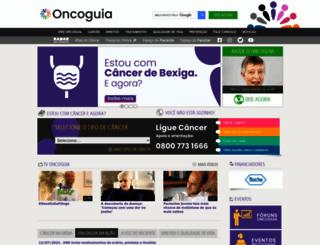 oncoguia.org.br screenshot