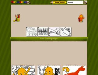 oncoloring.com screenshot