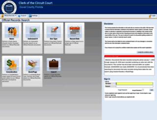 oncore.duvalclerk.com screenshot