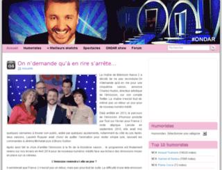 ondar.fr screenshot