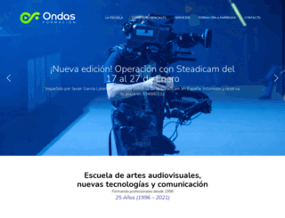 ondasformacion.com screenshot