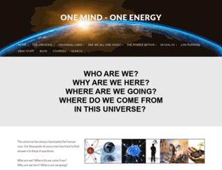 one-mind-one-energy.com screenshot