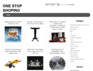 one-stopshoping.blogspot.com screenshot