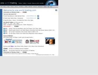 one-world-trading.com screenshot