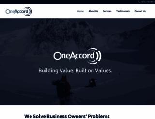 oneaccordpartners.com screenshot