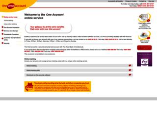 oneaccount.com screenshot