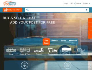 oneautomarket.com screenshot