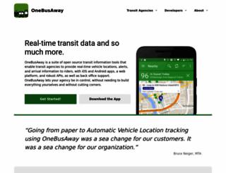 onebusaway.org screenshot