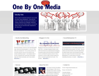 onebyonemedia.com screenshot