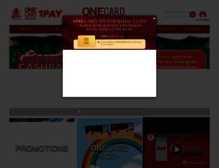 onecard.com.my screenshot