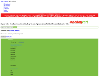 onedaycart.com screenshot
