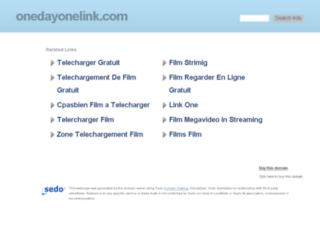 onedayonelink.com screenshot
