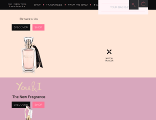 onedirectionfragrance.com screenshot