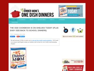 onedishdinners.com screenshot