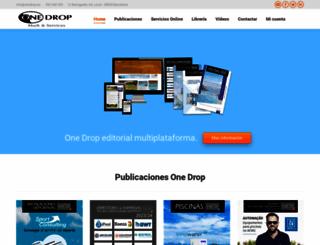 onedrop.es screenshot