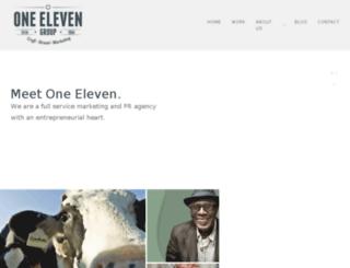 oneelevencorp.com screenshot