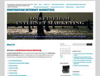 onefineham.com screenshot