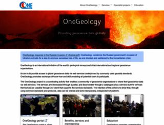 onegeology.org screenshot