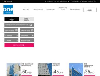 onehotels.com screenshot