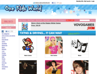 onekidsworld.com screenshot